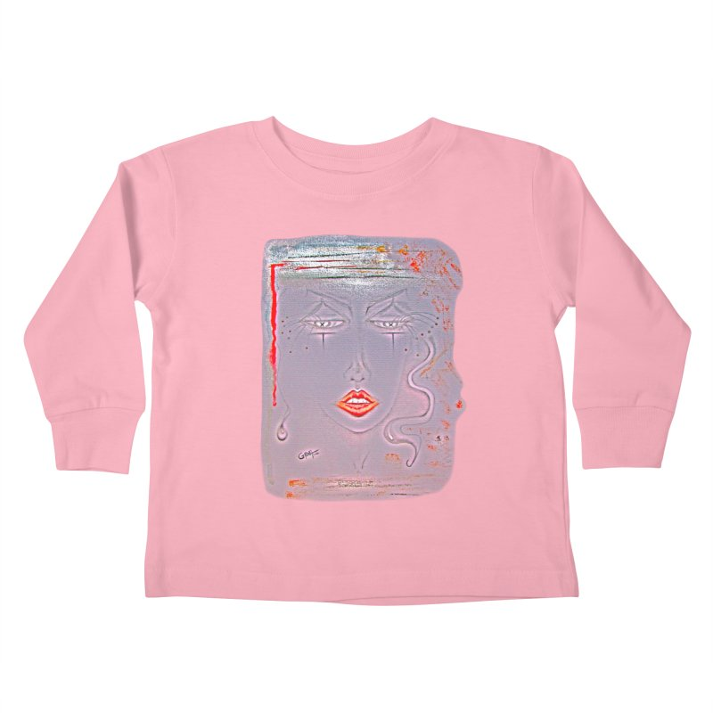 Sleepy Kids Toddler Longsleeve T-Shirt by Make Art Eat Pudding