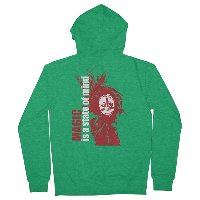 Voodoo Men's Zip-Up Hoody by heavybrush's Artist Shop