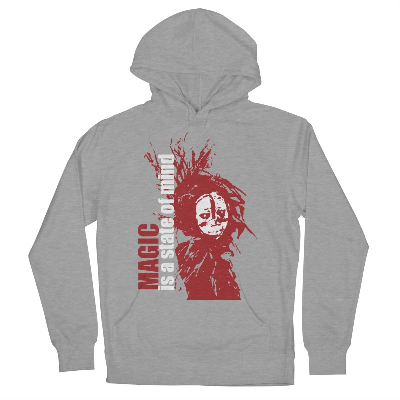 Voodoo Women's French Terry Pullover Hoody by heavybrush's Artist Shop