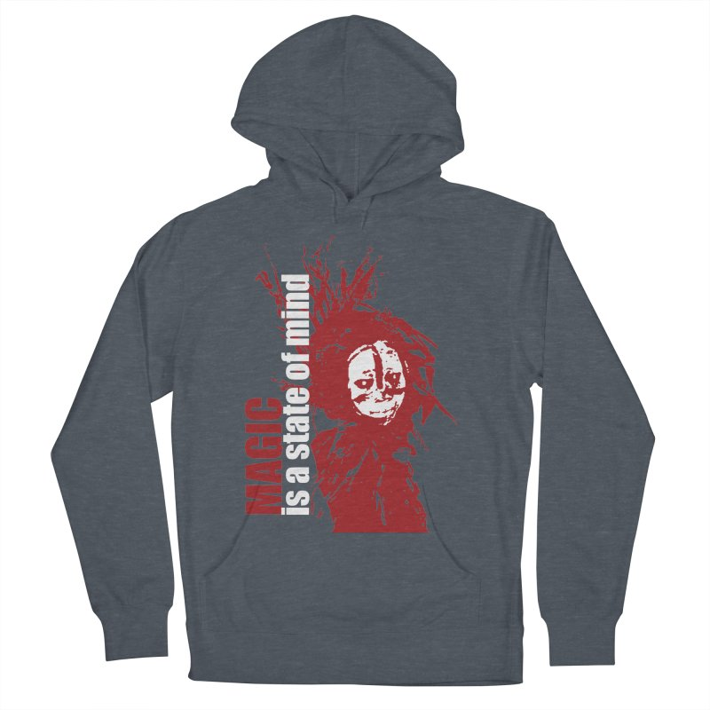 Voodoo Men's French Terry Pullover Hoody by heavybrush's Artist Shop