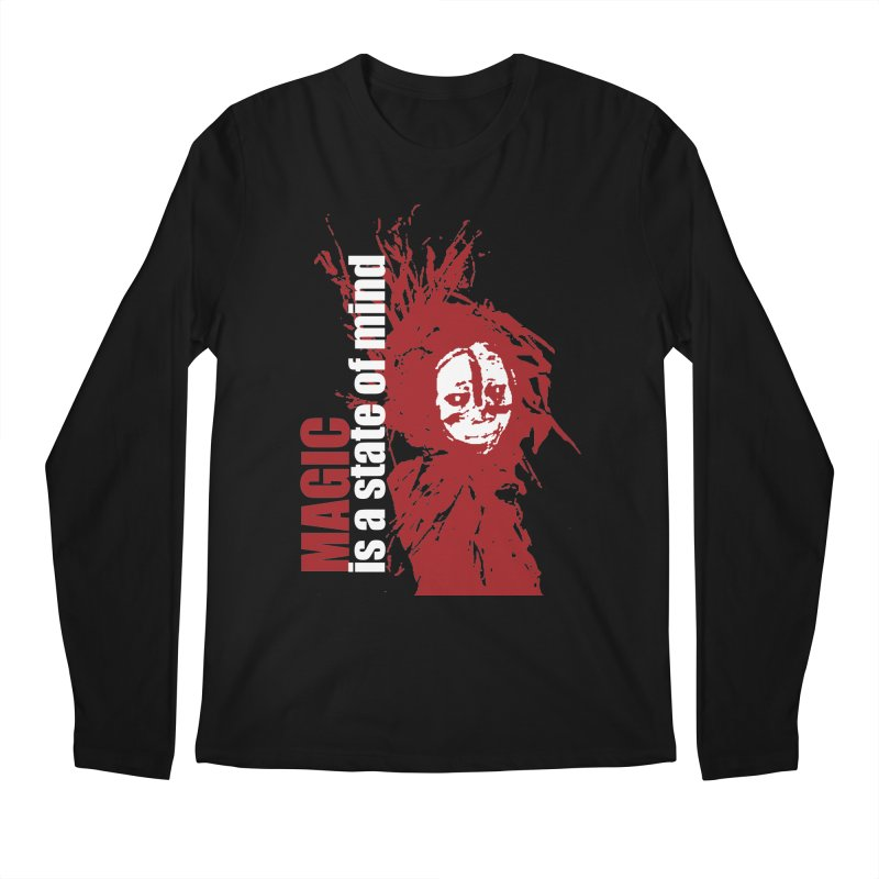 Voodoo Men's Regular Longsleeve T-Shirt by heavybrush's Artist Shop