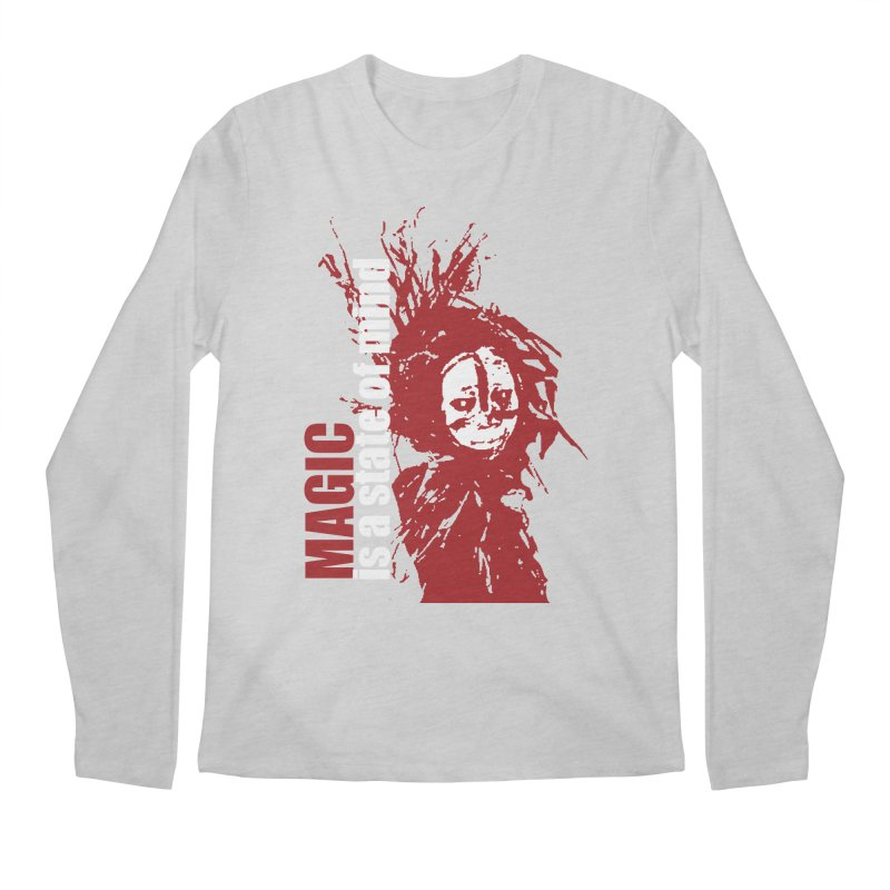 Voodoo Men's Regular Longsleeve T-Shirt by heavybrush's Artist Shop