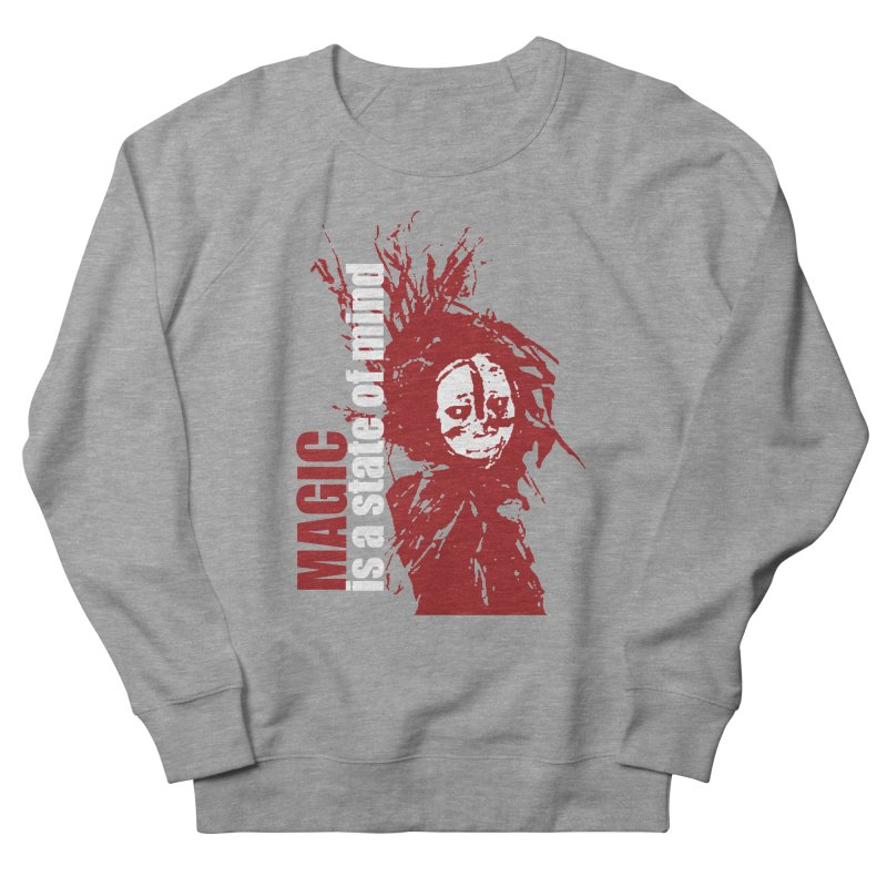 Voodoo Men's French Terry Sweatshirt by heavybrush's Artist Shop