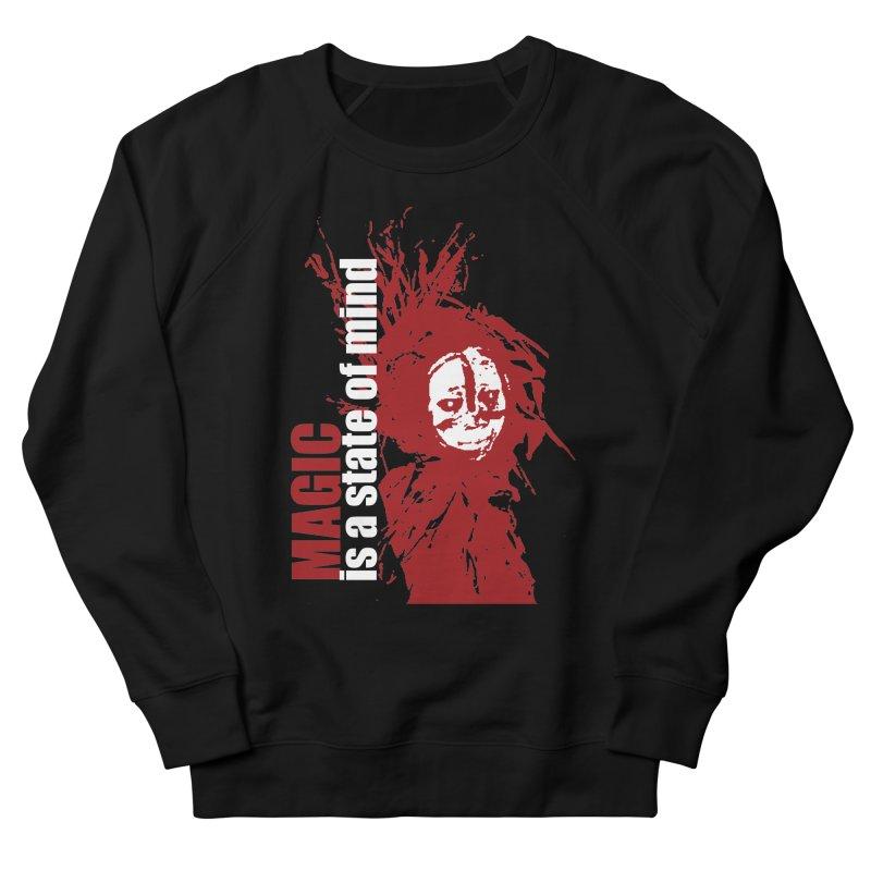 Voodoo Men's French Terry Sweatshirt by heavybrush's Artist Shop