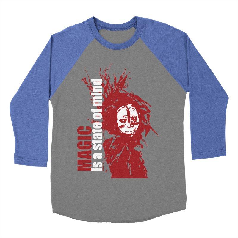 Voodoo Women's Baseball Triblend Longsleeve T-Shirt by heavybrush's Artist Shop