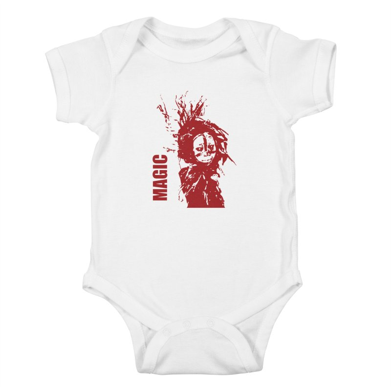 Voodoo Kids Baby Bodysuit by heavybrush's Artist Shop