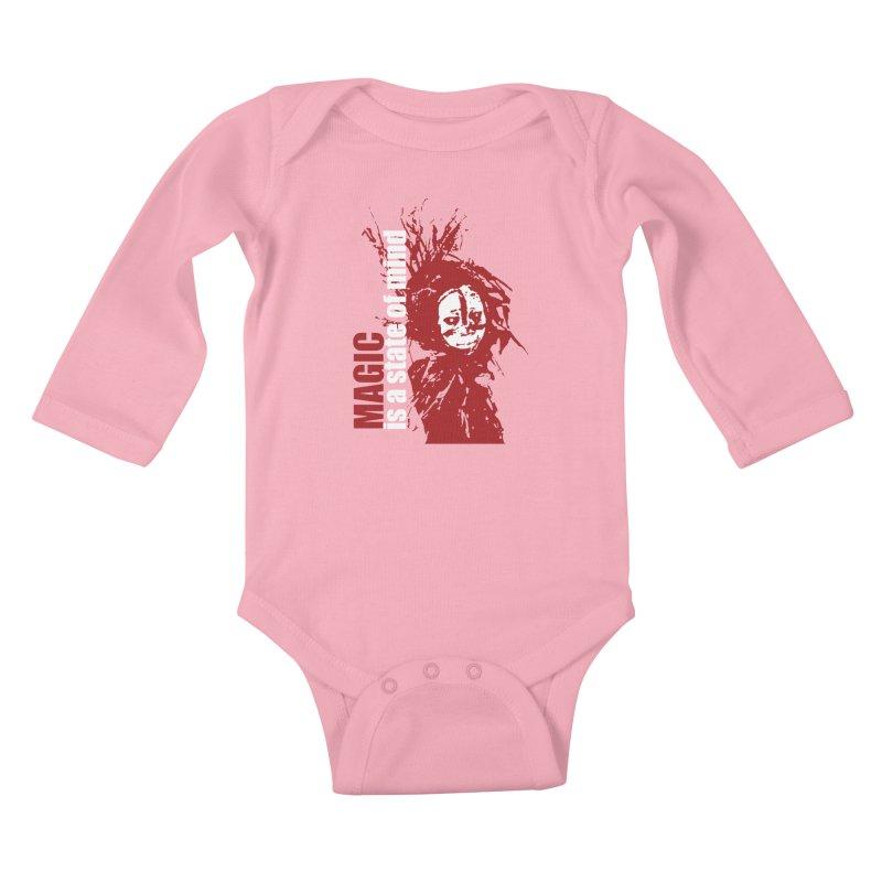 Voodoo Kids Baby Longsleeve Bodysuit by heavybrush's Artist Shop