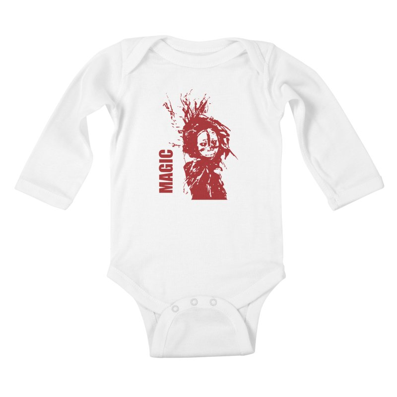 Voodoo Kids Baby Longsleeve Bodysuit by heavybrush's Artist Shop