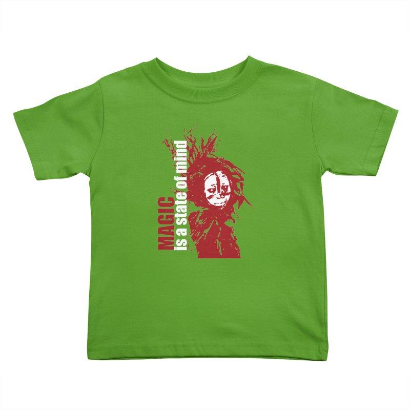 Voodoo Kids Toddler T-Shirt by heavybrush's Artist Shop