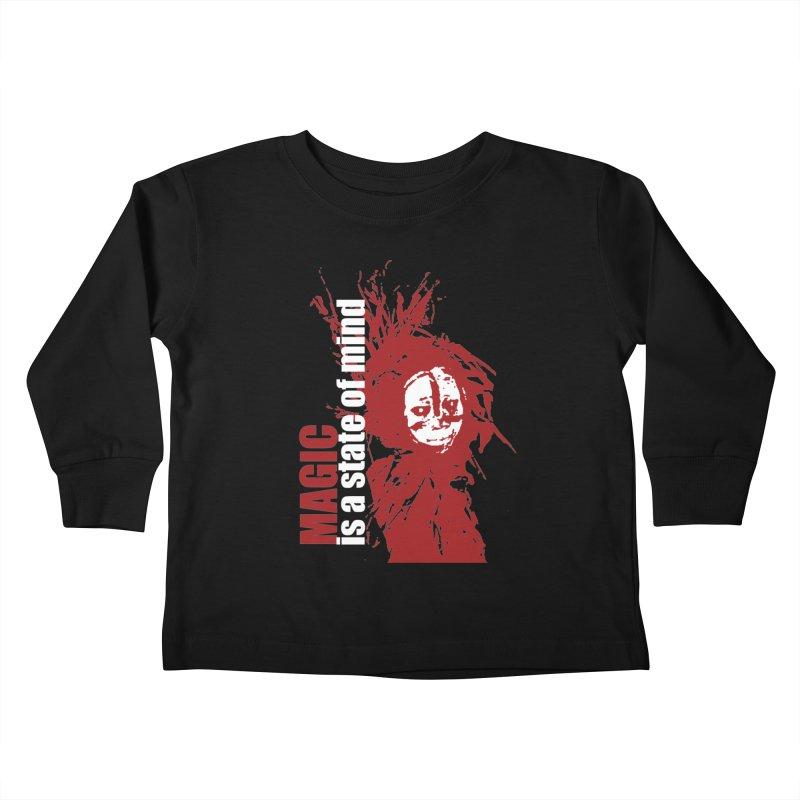 Voodoo Kids Toddler Longsleeve T-Shirt by heavybrush's Artist Shop