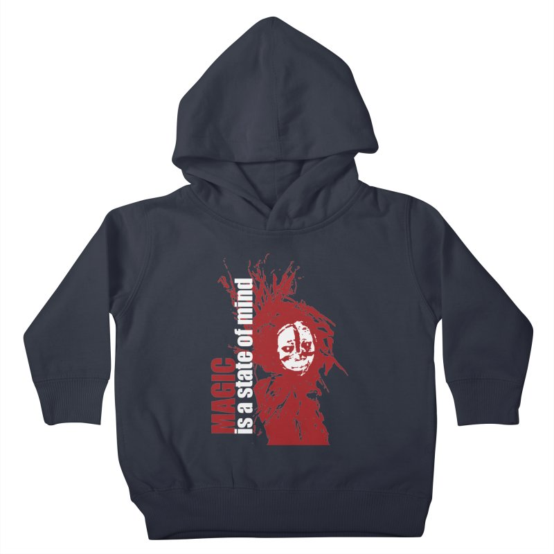 Voodoo Kids Toddler Pullover Hoody by heavybrush's Artist Shop