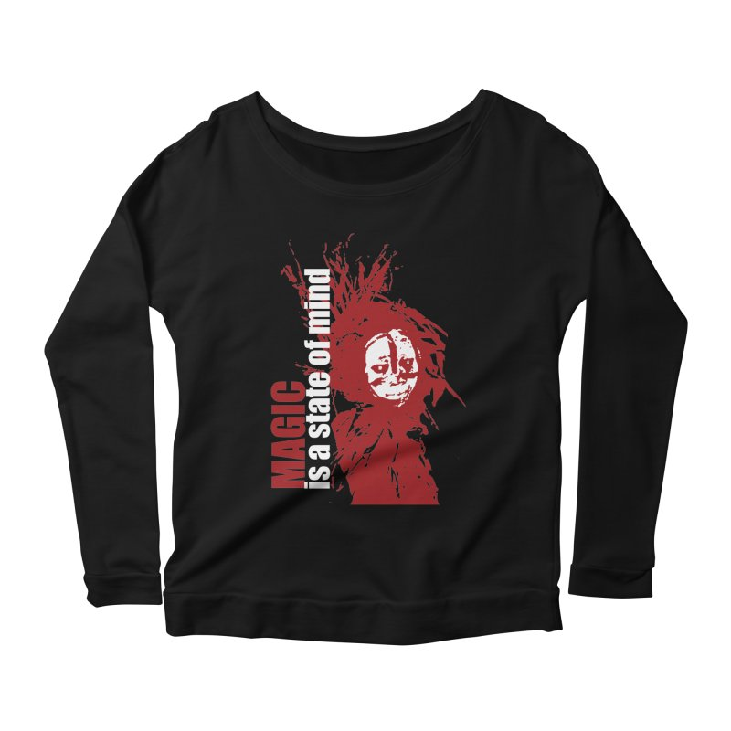 Voodoo Women's Scoop Neck Longsleeve T-Shirt by heavybrush's Artist Shop