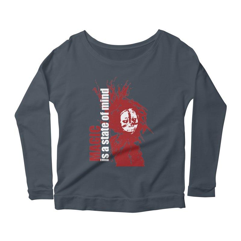 Voodoo Women's Scoop Neck Longsleeve T-Shirt by heavybrush's Artist Shop