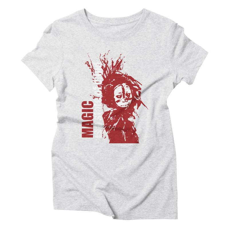 Voodoo Women's Triblend T-Shirt by heavybrush's Artist Shop