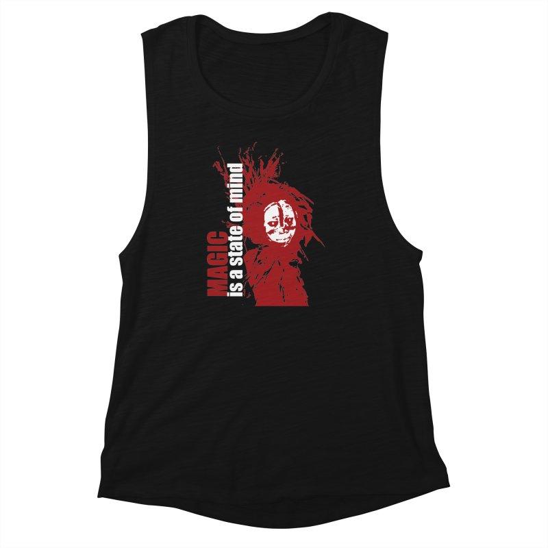 Voodoo Women's Muscle Tank by heavybrush's Artist Shop