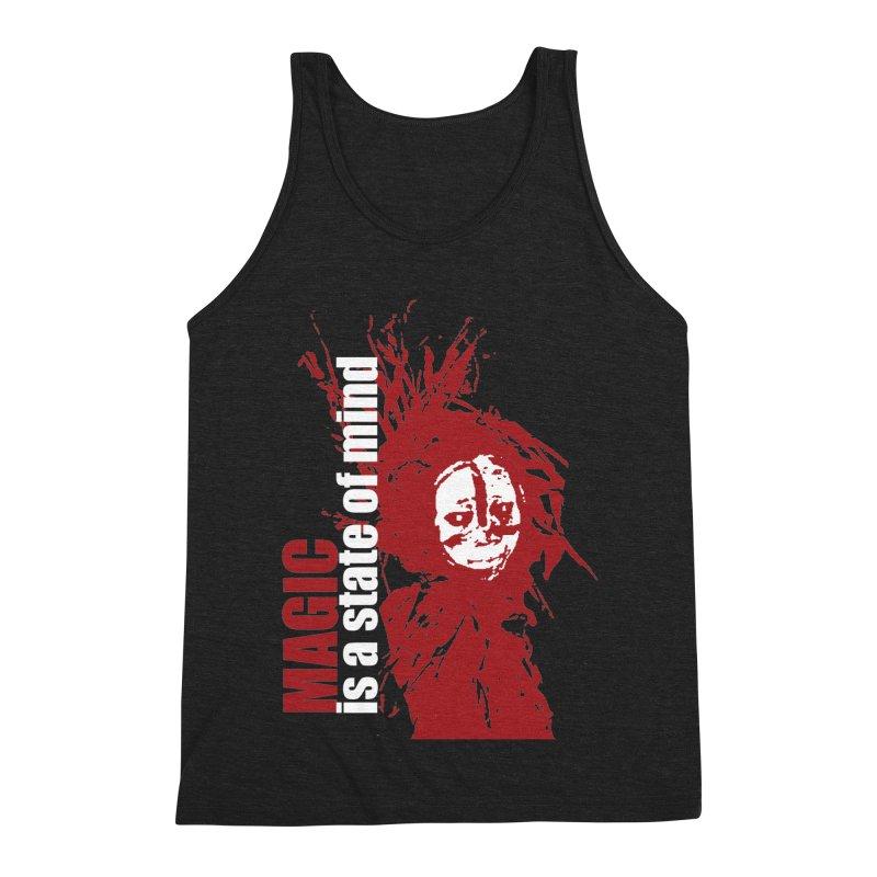 Voodoo Men's Triblend Tank by heavybrush's Artist Shop