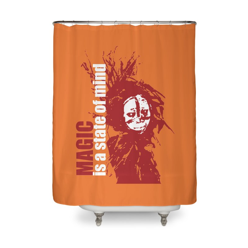 Voodoo Home Shower Curtain by heavybrush's Artist Shop