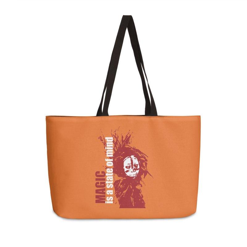 Voodoo Accessories Weekender Bag Bag by heavybrush's Artist Shop