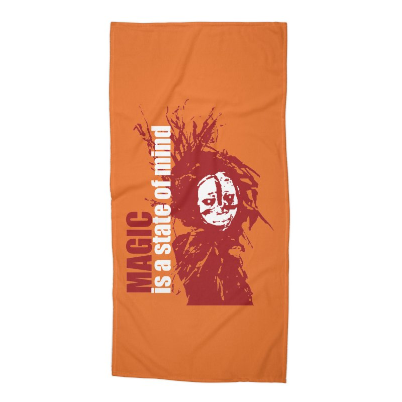 Voodoo Accessories Beach Towel by heavybrush's Artist Shop