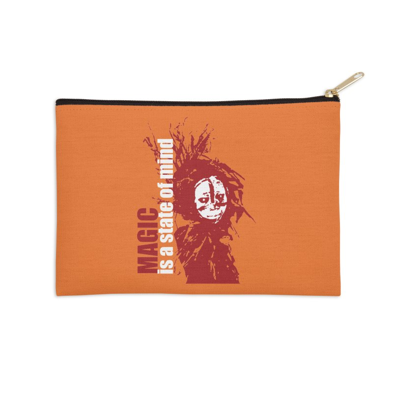 Voodoo Accessories Zip Pouch by heavybrush's Artist Shop