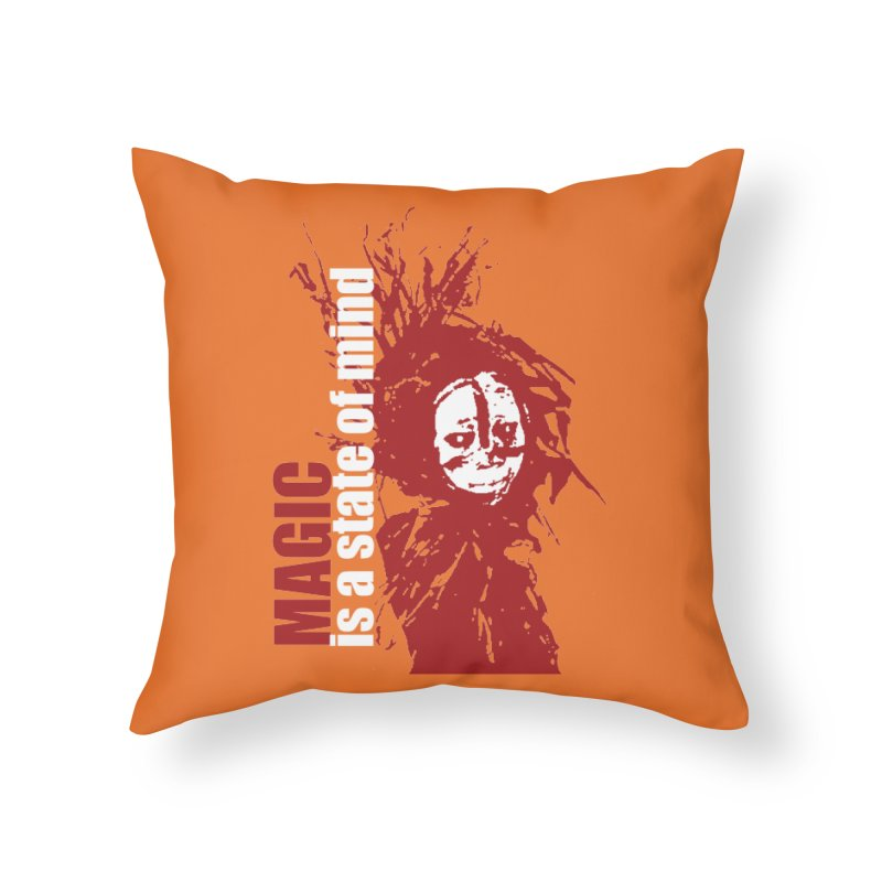 Voodoo Home Throw Pillow by heavybrush's Artist Shop