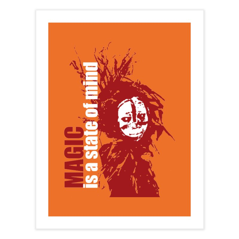 Voodoo Home Fine Art Print by heavybrush's Artist Shop