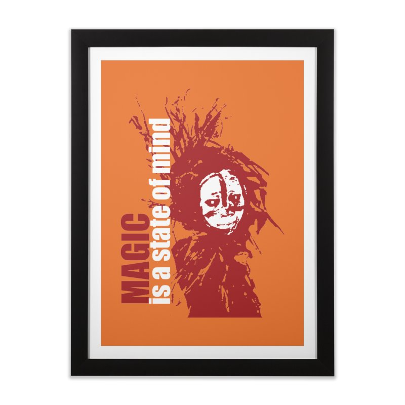 Voodoo Home Framed Fine Art Print by heavybrush's Artist Shop