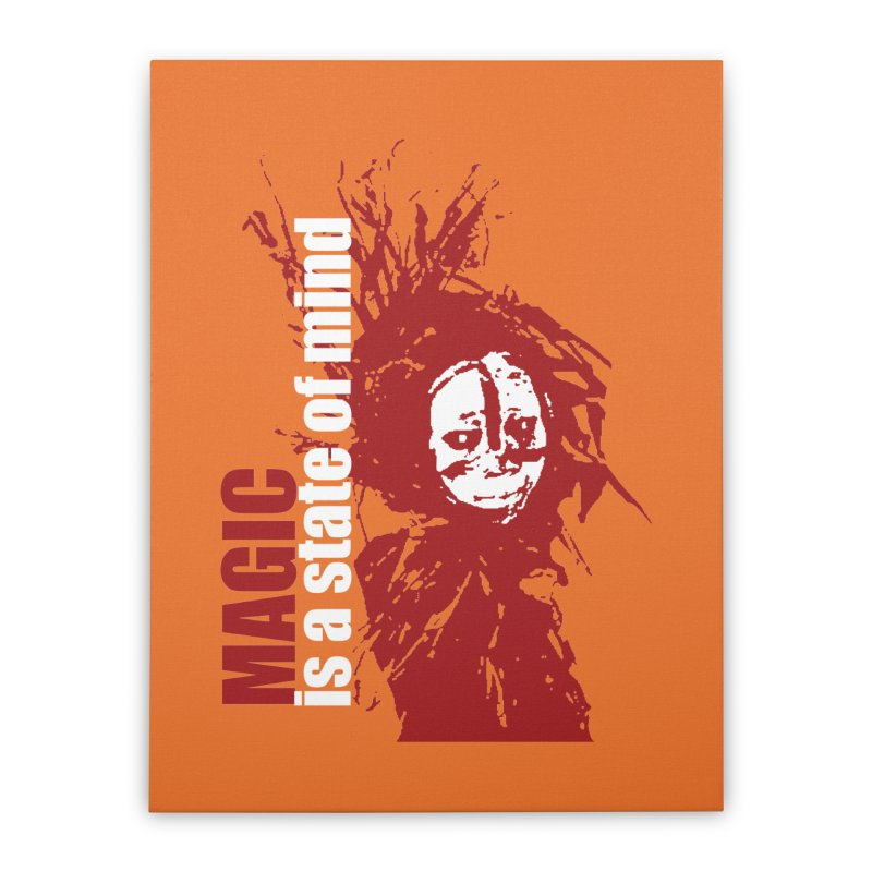 Voodoo Home Stretched Canvas by heavybrush's Artist Shop