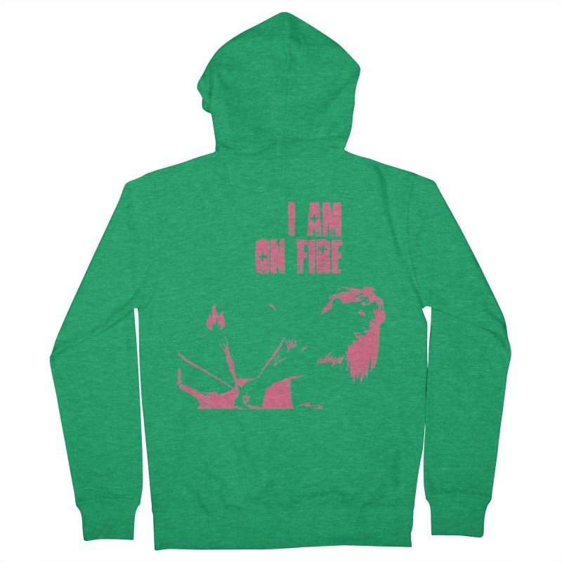 Slut Men's Zip-Up Hoody by heavybrush's Artist Shop