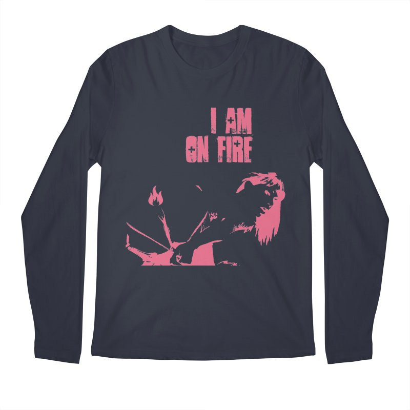 Slut Men's Regular Longsleeve T-Shirt by heavybrush's Artist Shop