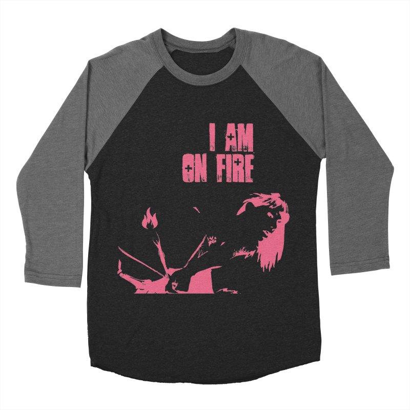 Slut Men's Baseball Triblend Longsleeve T-Shirt by heavybrush's Artist Shop