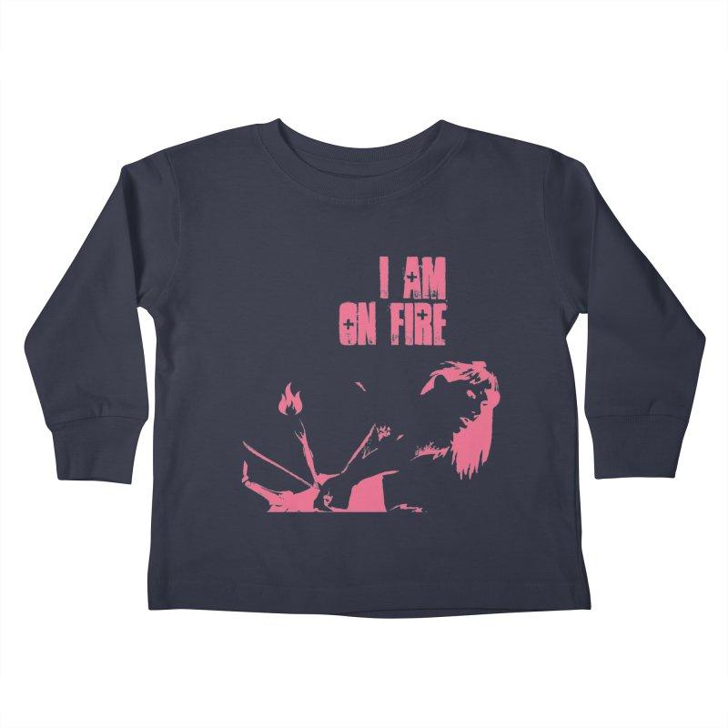 Slut Kids Toddler Longsleeve T-Shirt by heavybrush's Artist Shop