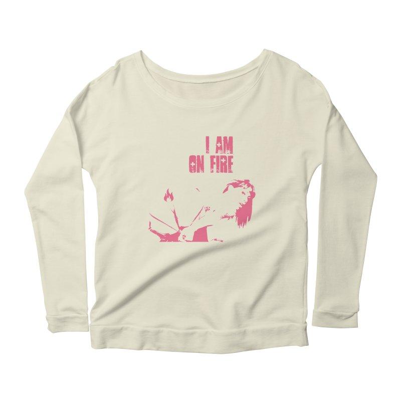 Slut Women's Scoop Neck Longsleeve T-Shirt by heavybrush's Artist Shop