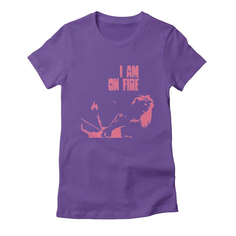 Slut Women's Fitted T-Shirt by heavybrush's Artist Shop