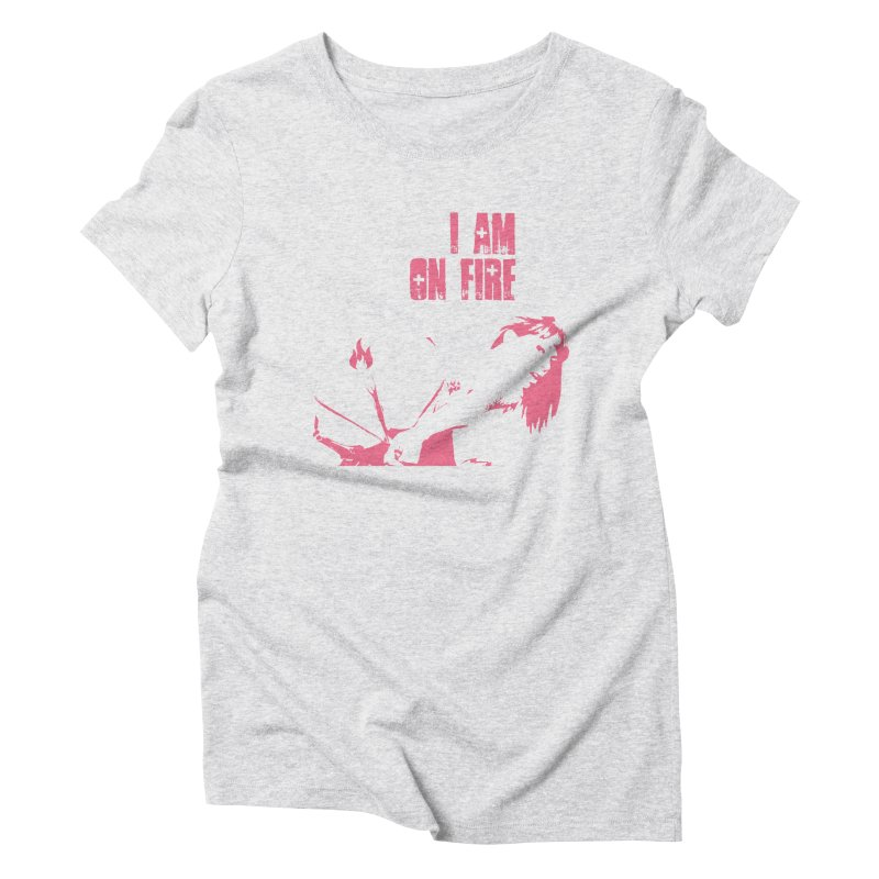 Slut Women's Triblend T-Shirt by heavybrush's Artist Shop