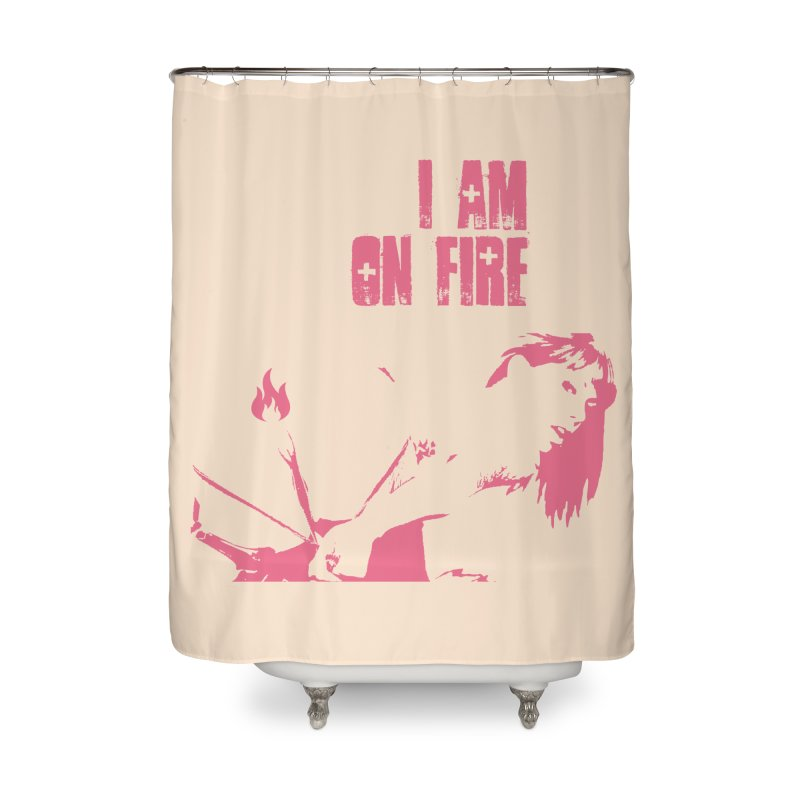 Slut Home Shower Curtain by heavybrush's Artist Shop