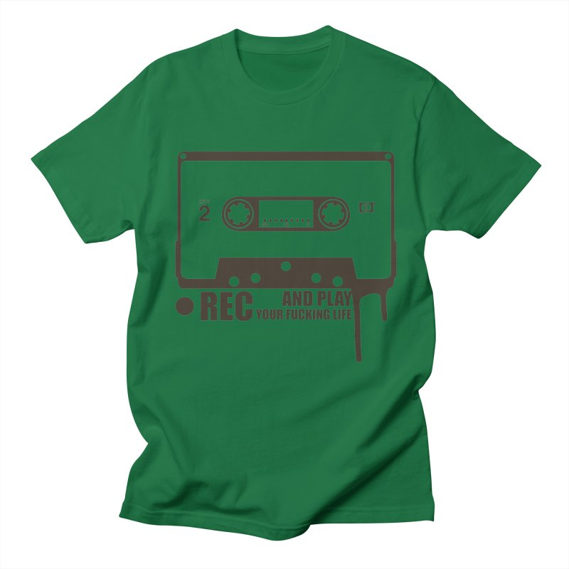 Tape Women's Regular Unisex T-Shirt by heavybrush's Artist Shop