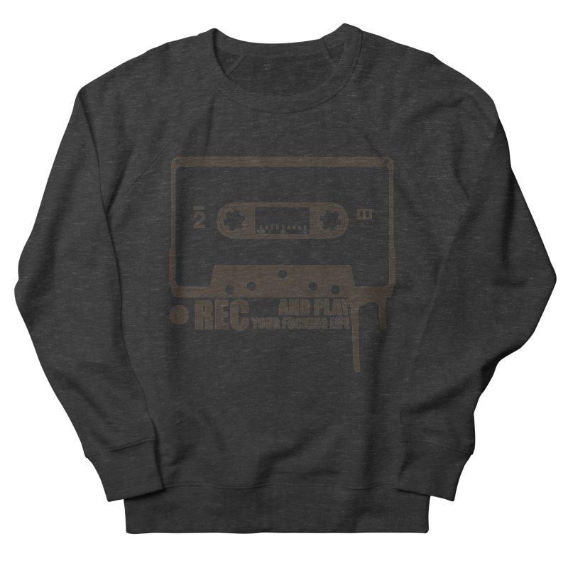 Tape Women's French Terry Sweatshirt by heavybrush's Artist Shop