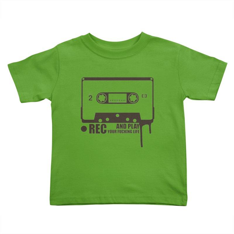 Tape Kids Toddler T-Shirt by heavybrush's Artist Shop