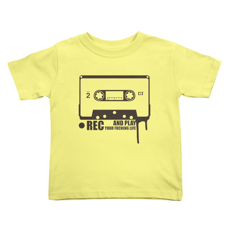 Tape Kids Toddler T-Shirt by heavybrush's Artist Shop