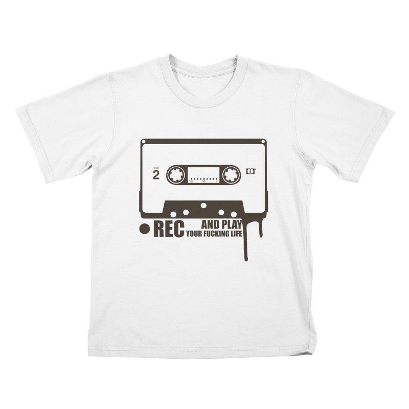 Tape Kids T-Shirt by heavybrush's Artist Shop