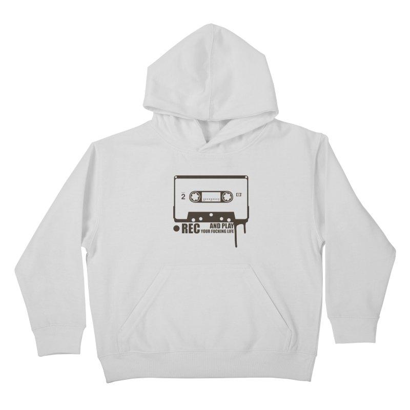 Tape Kids Pullover Hoody by heavybrush's Artist Shop