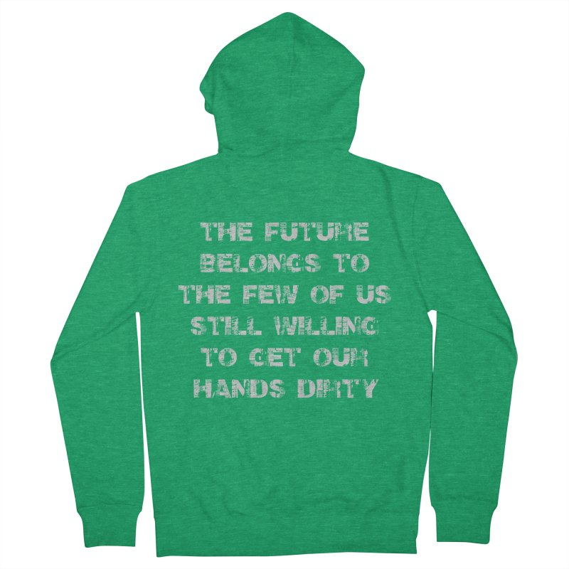 The Future Men's Zip-Up Hoody by heavybrush's Artist Shop
