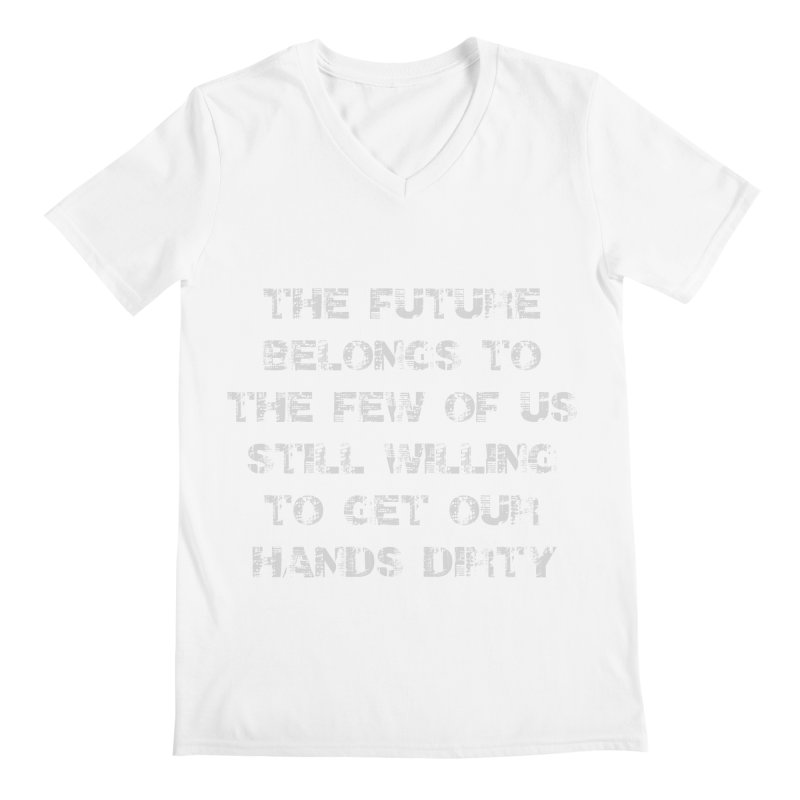 The Future Men's V-Neck by heavybrush's Artist Shop