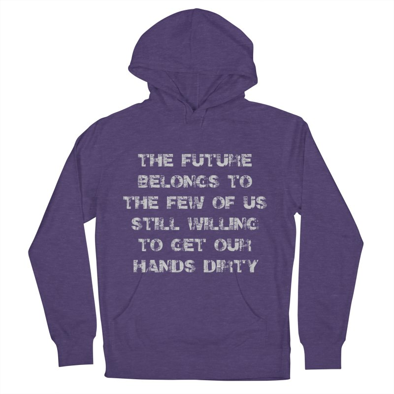 The Future Men's French Terry Pullover Hoody by heavybrush's Artist Shop