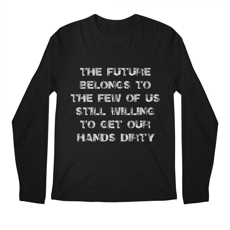 The Future Men's Regular Longsleeve T-Shirt by heavybrush's Artist Shop