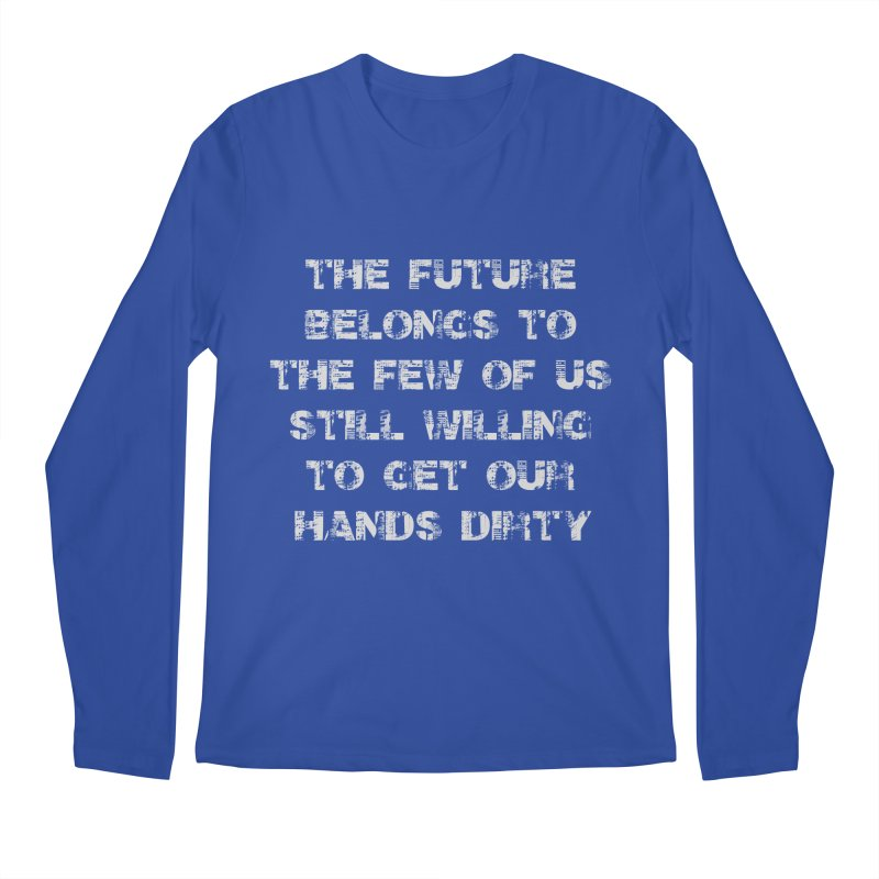 The Future Men's Regular Longsleeve T-Shirt by heavybrush's Artist Shop