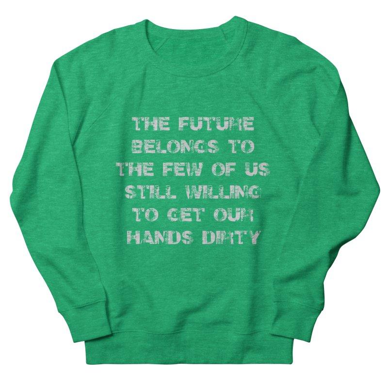The Future Women's French Terry Sweatshirt by heavybrush's Artist Shop