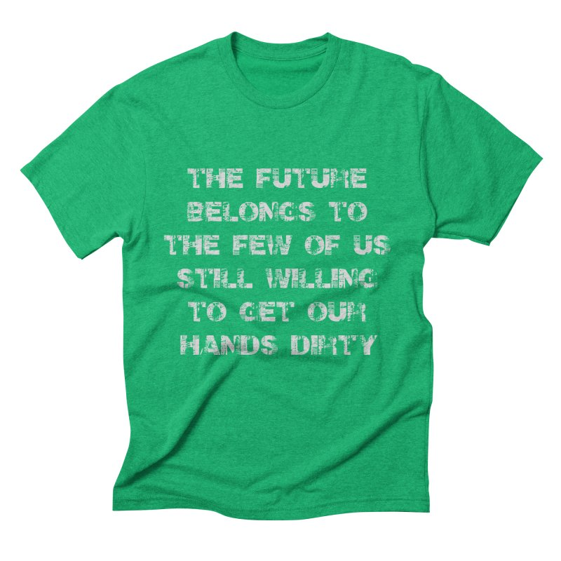 The Future Men's Triblend T-Shirt by heavybrush's Artist Shop