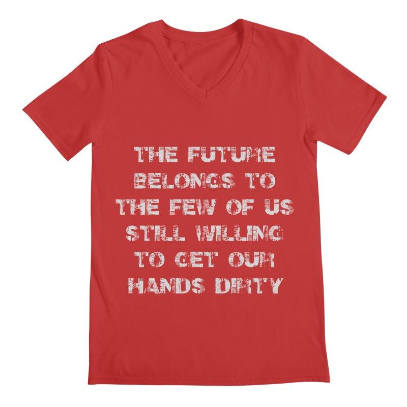 The Future Men's Regular V-Neck by heavybrush's Artist Shop